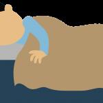 sleeping cartoon